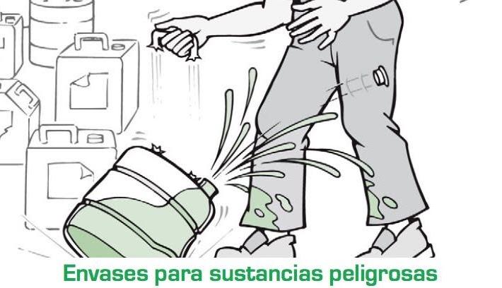 Envases para sustancias peligrosas. Caso práctico