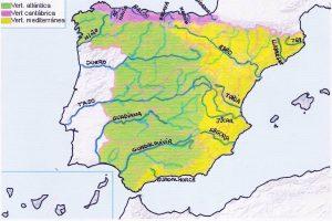 mapa España ríos