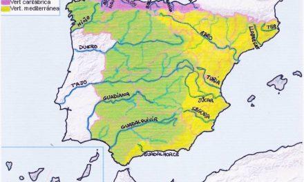 La hidrografía de España