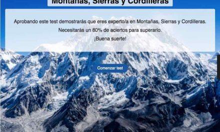 Montañas, sierras y cordilleras