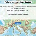 Relieve y geografía de Europa