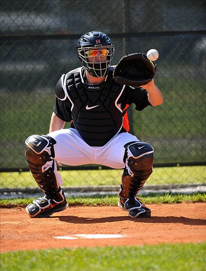 catching position
