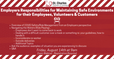 Employers Responsibilities for Maintaining Safe Environments for their Employees, Volunteers & Customers - Banner.png