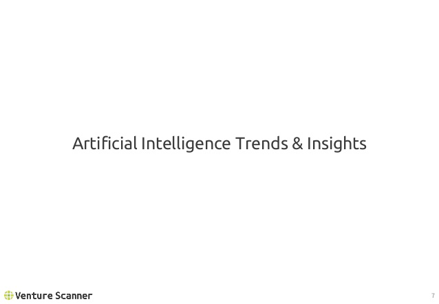 Artificial Intelligence Trends and Insights