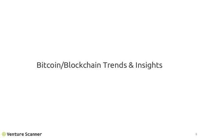 Bitcoin/Blockchain Trends and Insights