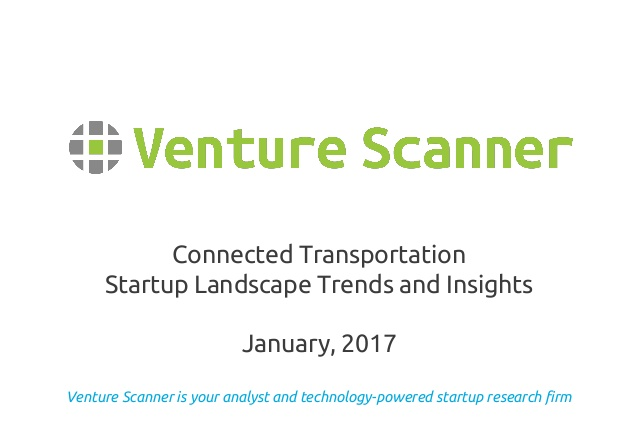 Connected Transportation Quarterly Trends and Insights