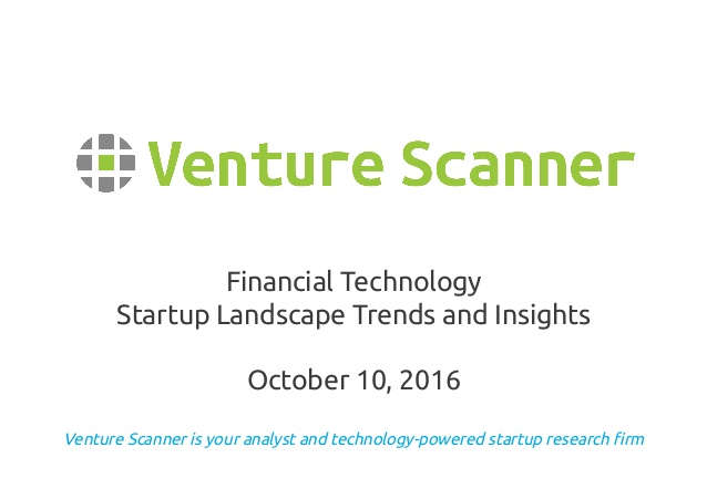 FinTech Startup Landscape Trends and Insights