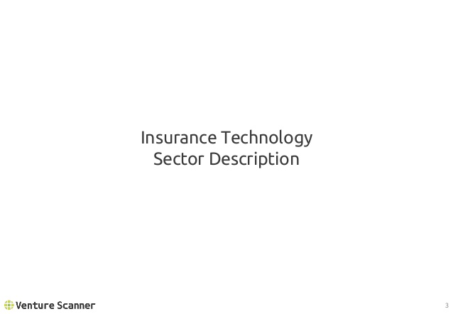 Insurtech Sector Overview