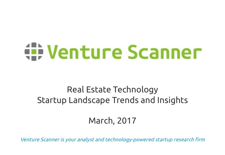 Real Estate Tech Q1 2017 Report
