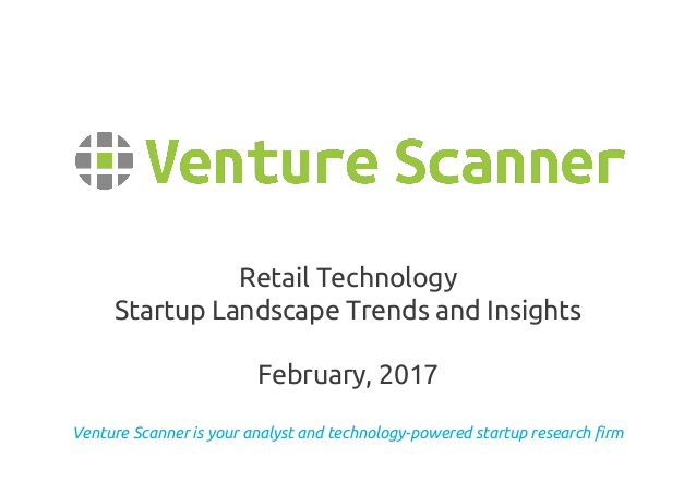 Retail Tech Landscape Report
