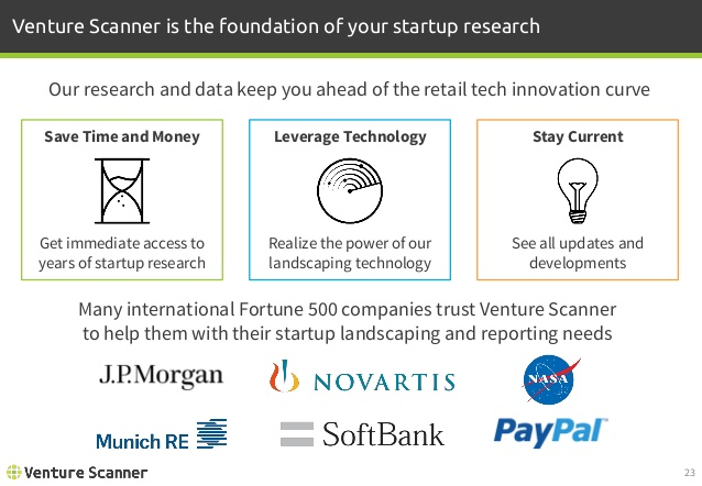 Venture Scanner Value Proposition