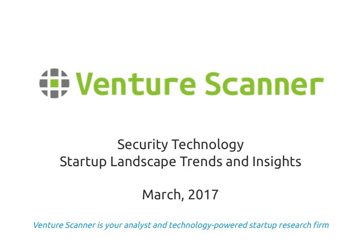 Security Technology Q1 2017 Trends and Insights