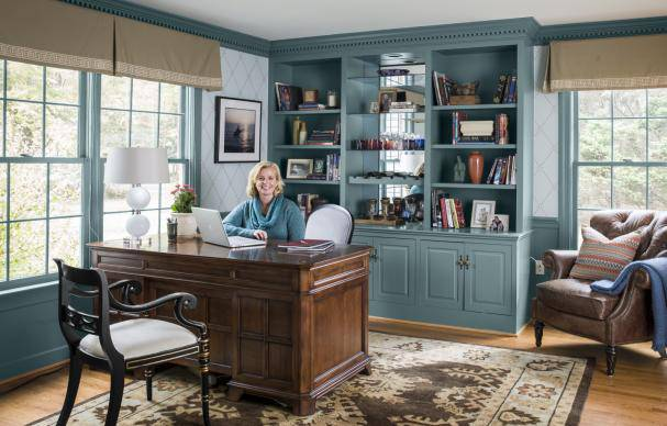 This Old House: A little home-office redo inspiration: https://t.co/zxoZmKblkx.  Smartened-Up Home Offi...