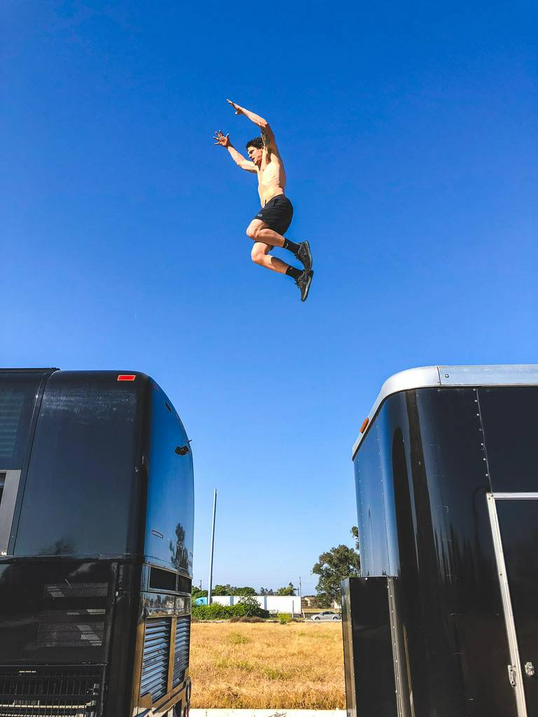 Granger Smith: Jumping into the weekend like...