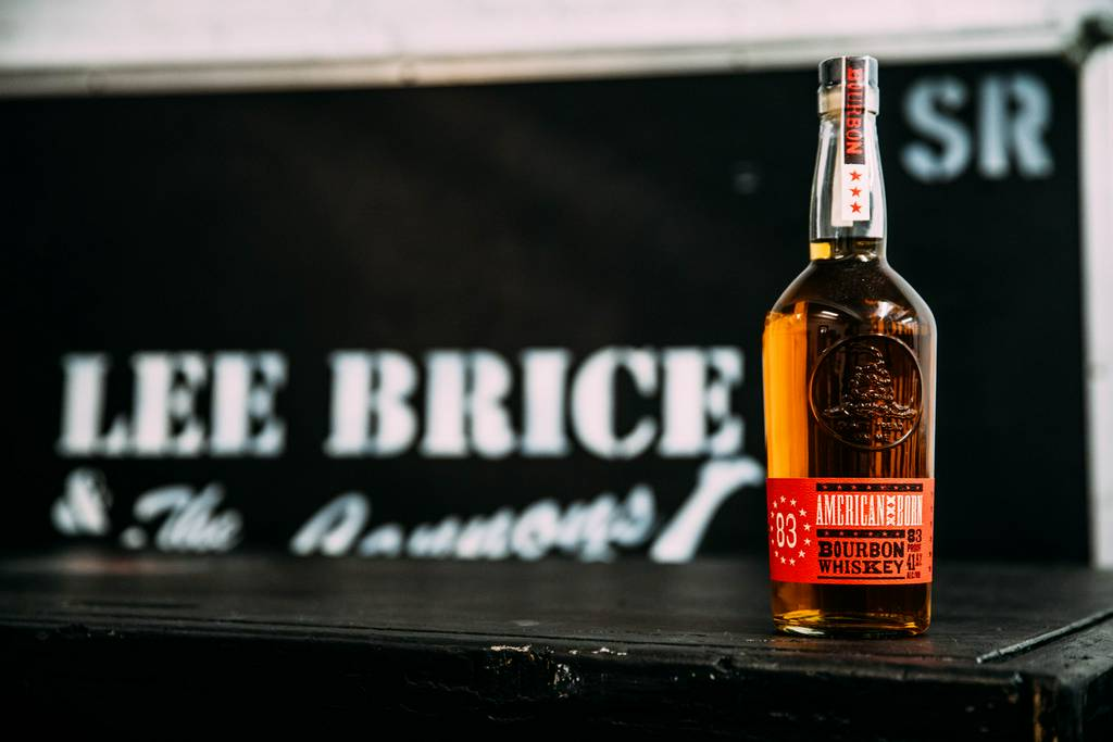 Lee Brice: A little grit, a little grain. American Born Whiskey, now on tour.