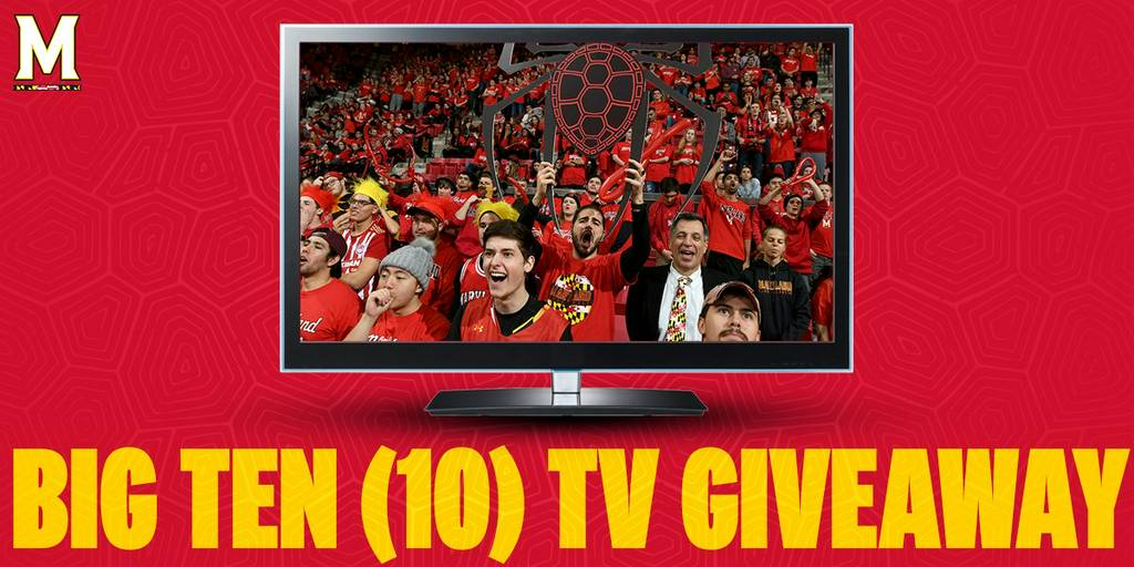 Maryland Terrapins NCAA Basketball: Don't forget!  10 lucky Maryland students will win a smart TV tonight ��.  Maryland...