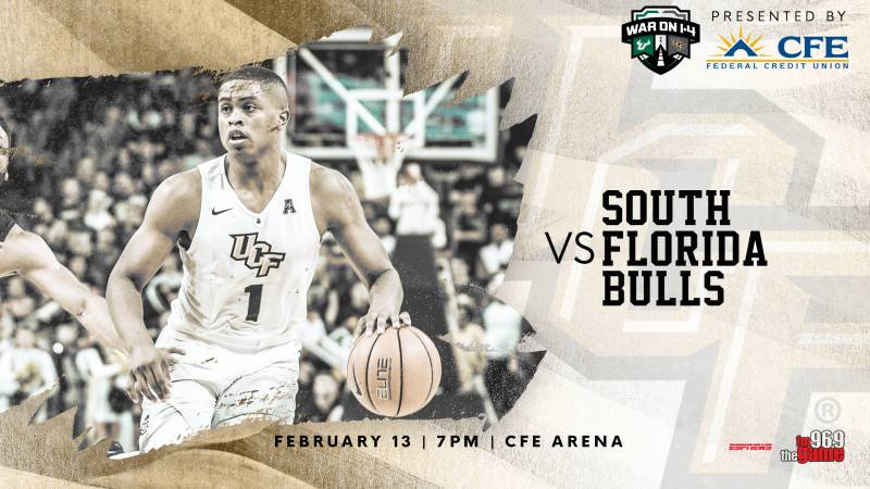 UCF Knights NCAA Basketball: The annual War On I-4 is upon us. The UCF men's basketball team is set to play the fron...