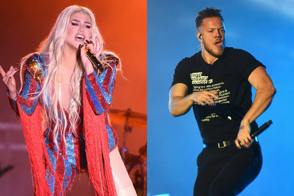 Imagine Dragons: Imagine Dragons' Dan Reynolds Taps Kesha to Headline LoveLoud Festival.  Tegan and Sa...