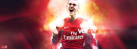 Thomas Vermaelen: Thomas Vermaelen - Arsenal FC.  Visit us on SOCCERFANTASYART.ORG!!