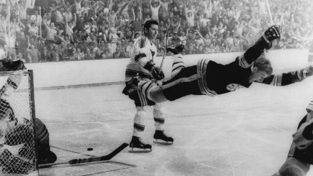 Bobby Orr: Hockey Night in Canada podcast: Remembering Bobby Orr's iconic goal.  The Stanley Cup f...
