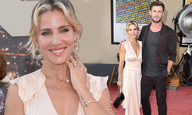 Chris Hemsworth: Elsa Pataky and Chris Hemsworth enjoy a date night at the Once Upon a Time In Hollywood...