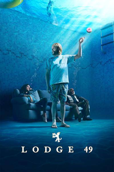 AMC: Season 1 of #Lodge49 is only on @Hulu. Dud does a lot more than catch some possums, tru...