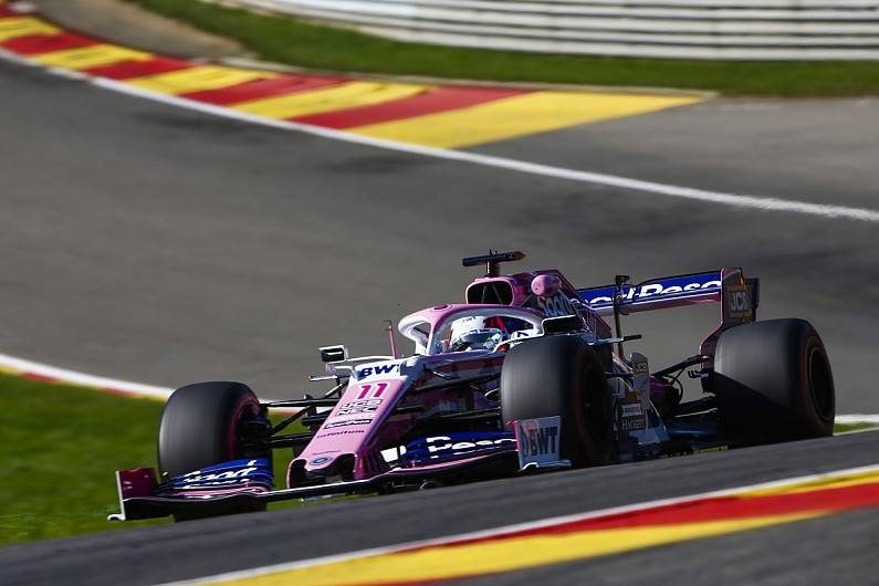 F1 News & Updates: Failure forces Perez to older Mercedes F1 engine at the Belgian GP.  Racing Point drive...