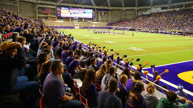 Northern Iowa Panthers NCAA Basketball: UNI Athletics to sell alcohol at all football and men's basketball games during the 201...