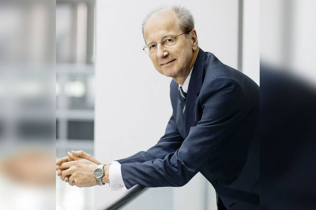Omega: Spotted – Hans Dieter Pötsch, Chairman of Porsche SE, with IWC and Omega.  For our l...