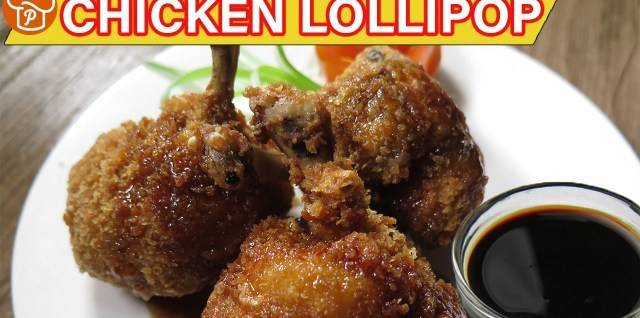 Amazing Filipino Recipes: How to Cook Chicken Lollipop with Honey & Soy Sauce.  Ingredients:FOR THE CHICKEN LOLLI...