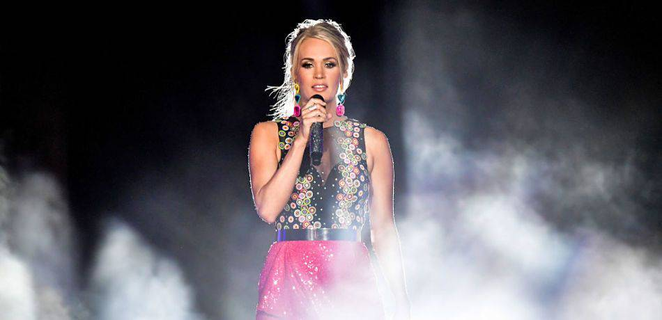 Carrie Underwood: Carrie Underwood Rocks Out In San Diego Before Heading To Los Angeles For Her 'Cry Pr...