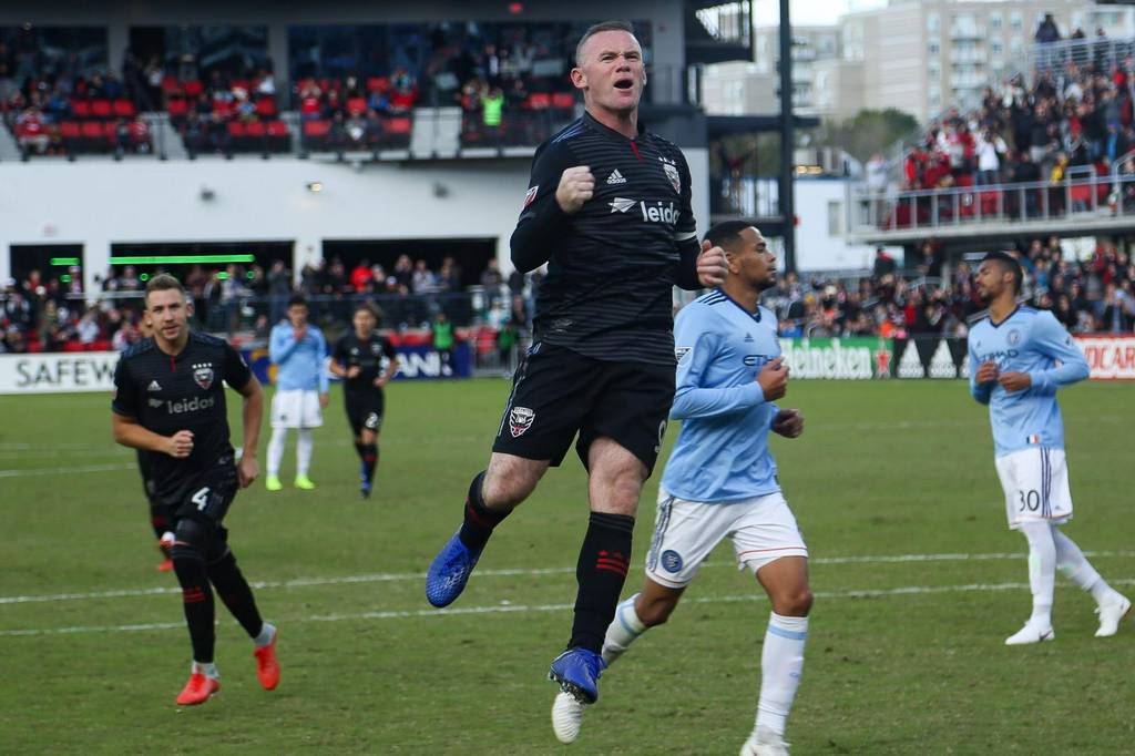 Major League Soccer: #DCU 𝘃𝘀 #RCTID  📺: ESPN.  Wayne Rooney on Twitter: '#tbt to our 2018 play-off ...