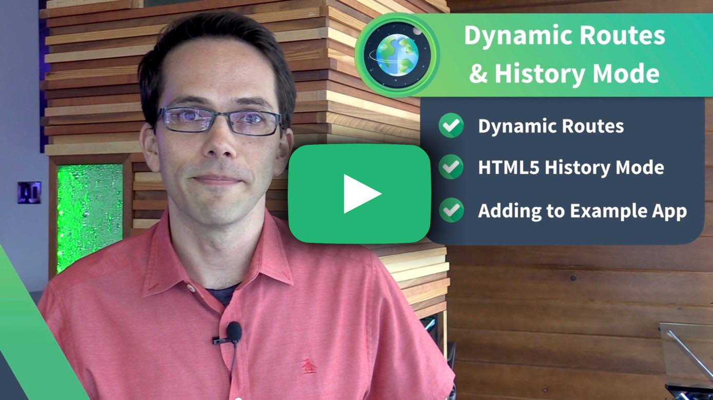 Dynamic Routing History Mode