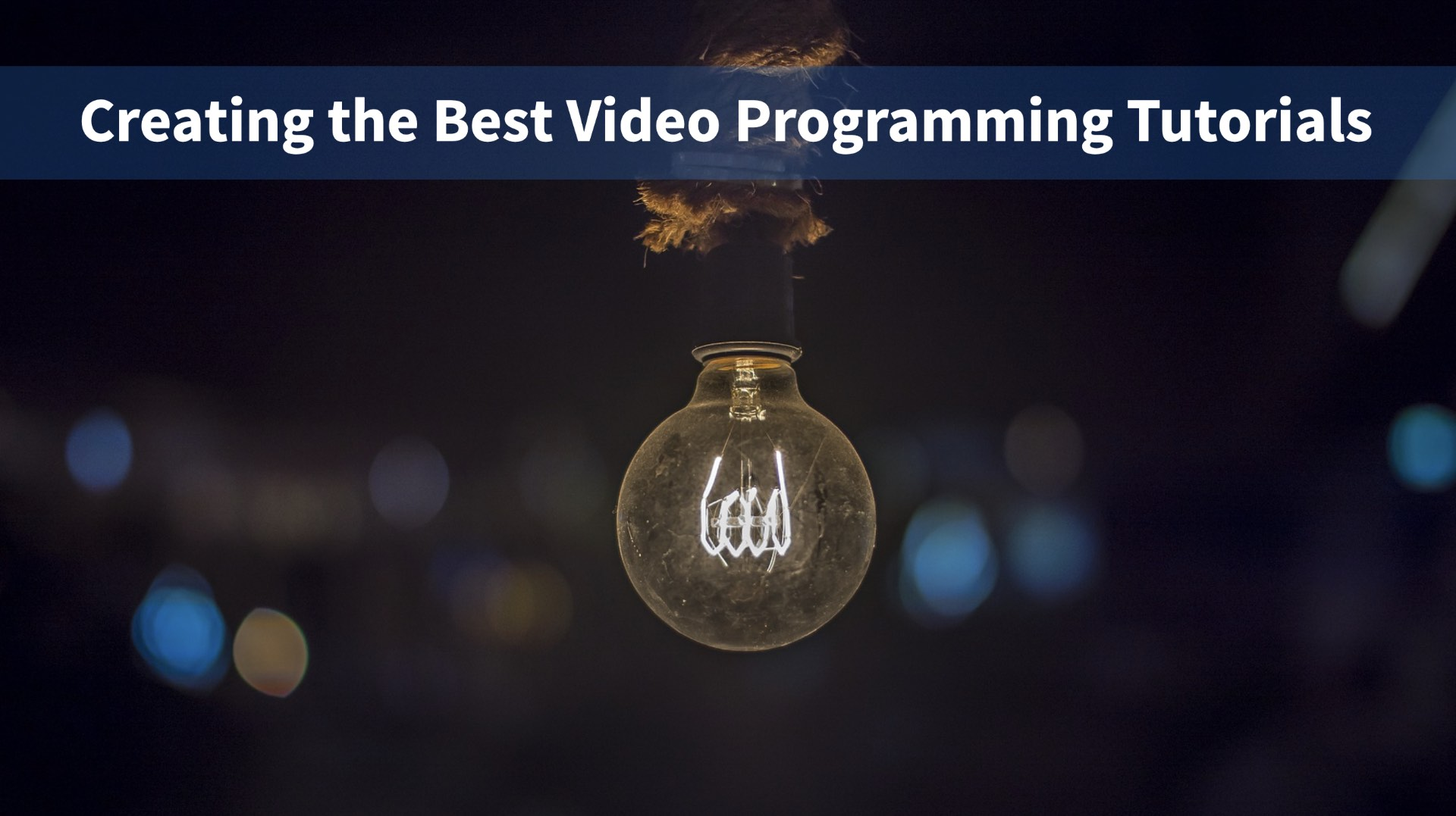 Creating the Best Video Programming Tutorials | Vue Mastery