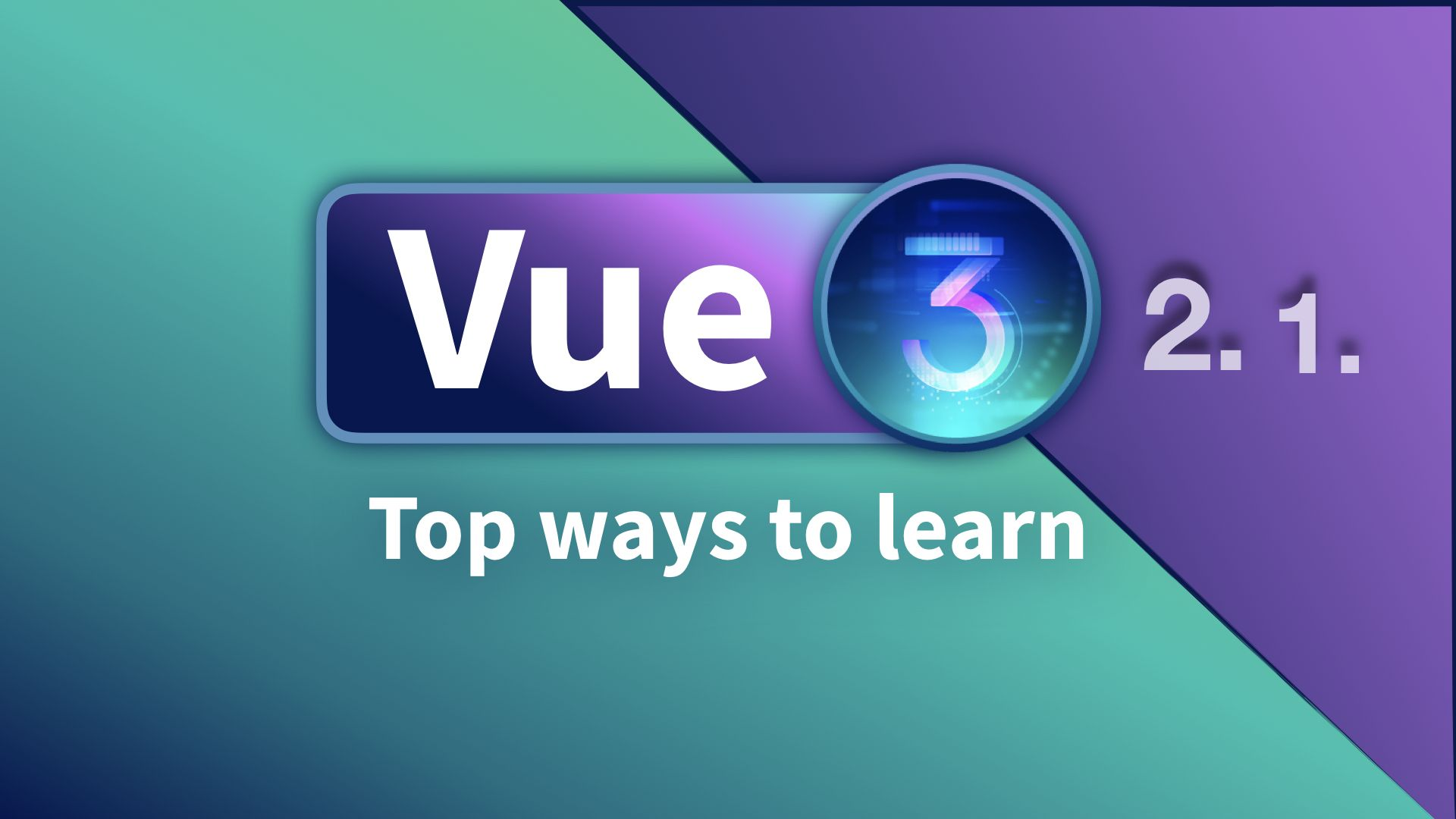 Top ways to learn Vue 3