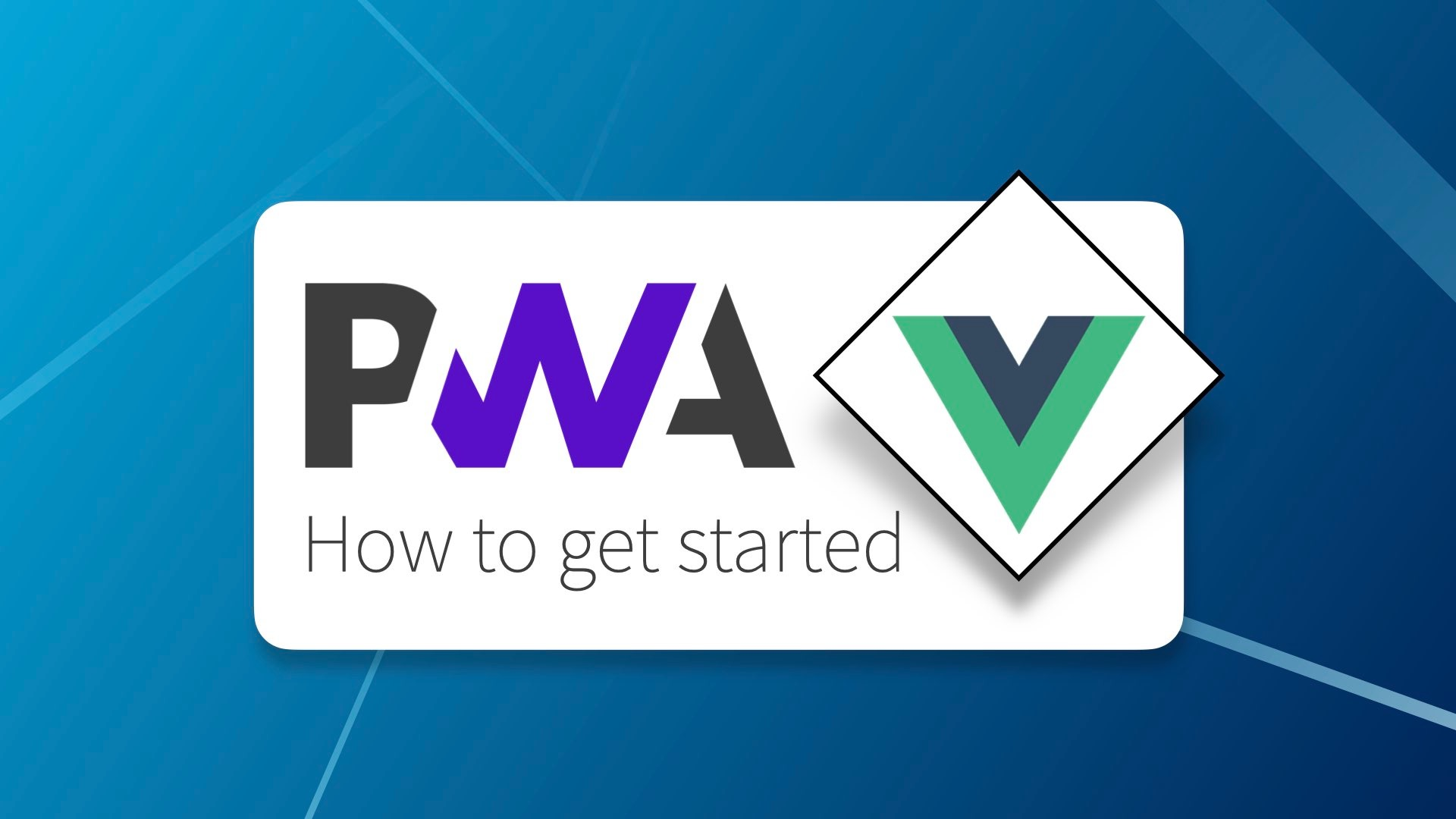 Getting started with PWAs and Vue 3