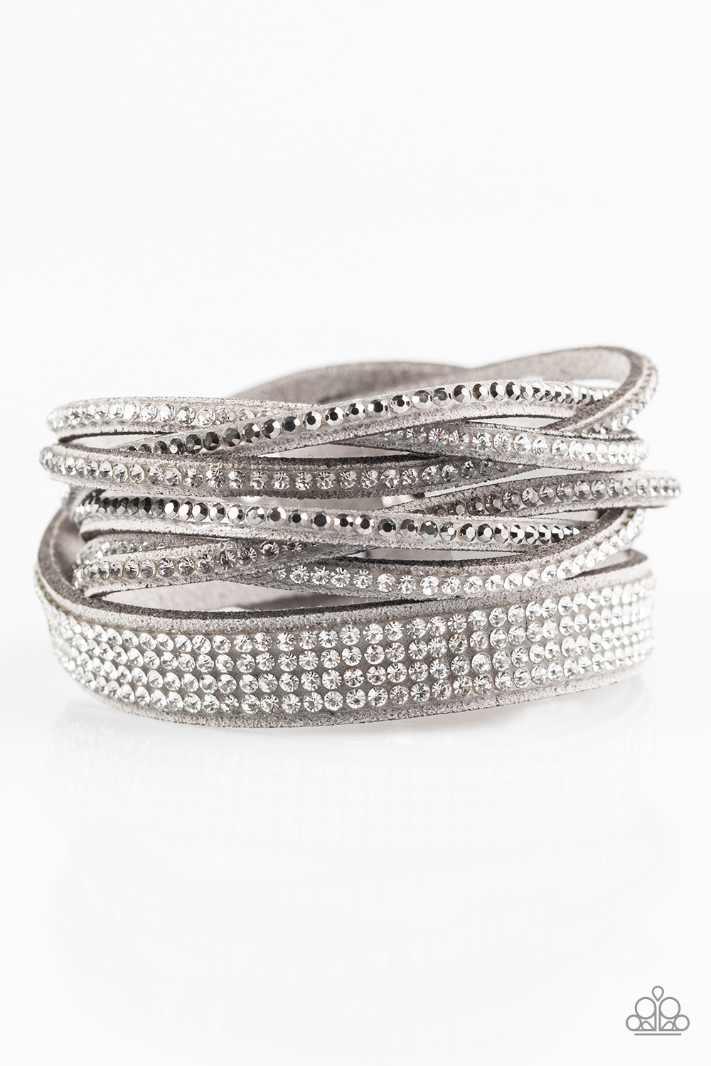 Paparazzi Accessories:  Taking Care Of Business - Silver (2112)