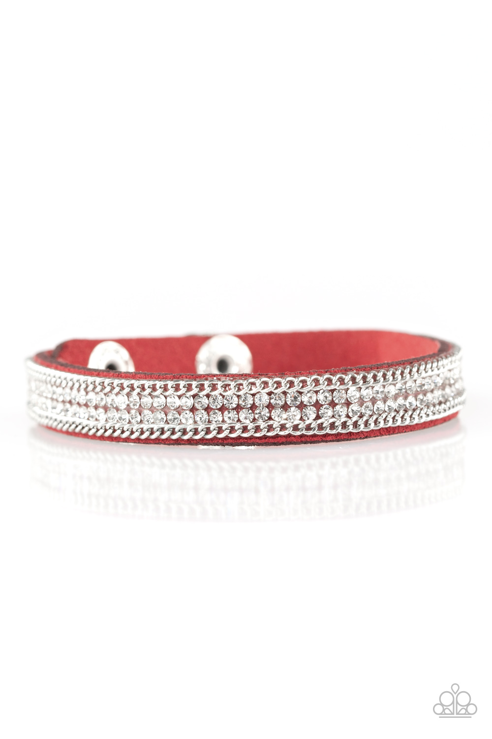 Paparazzi Accessories:  Babe Bling - Red (477)