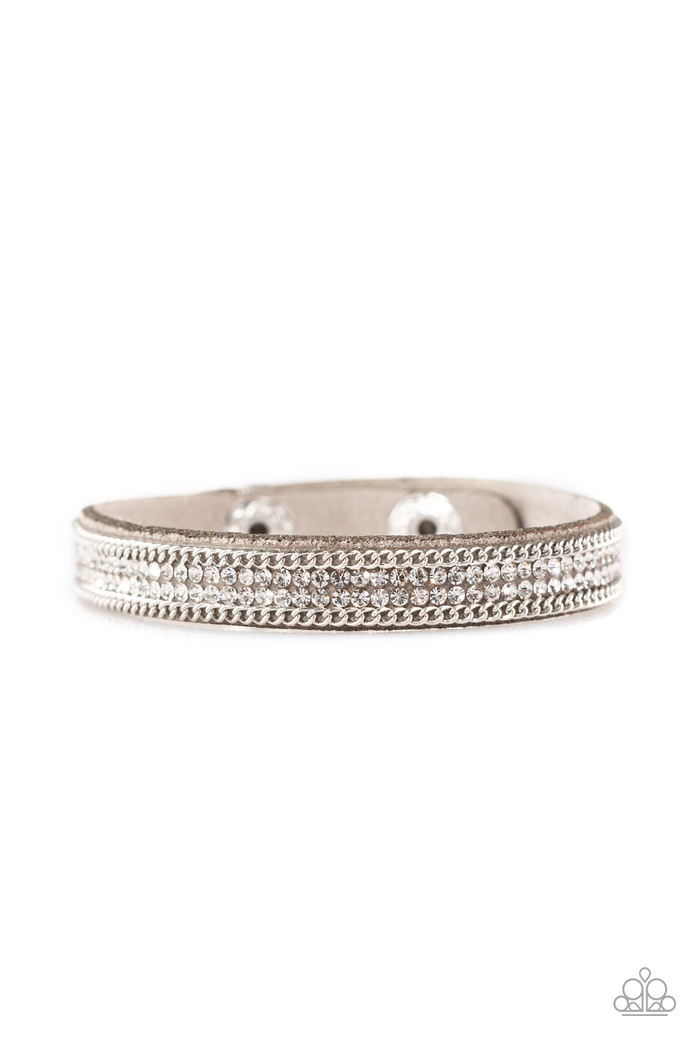 Paparazzi Accessories:  Babe Bling - Silver (1917)