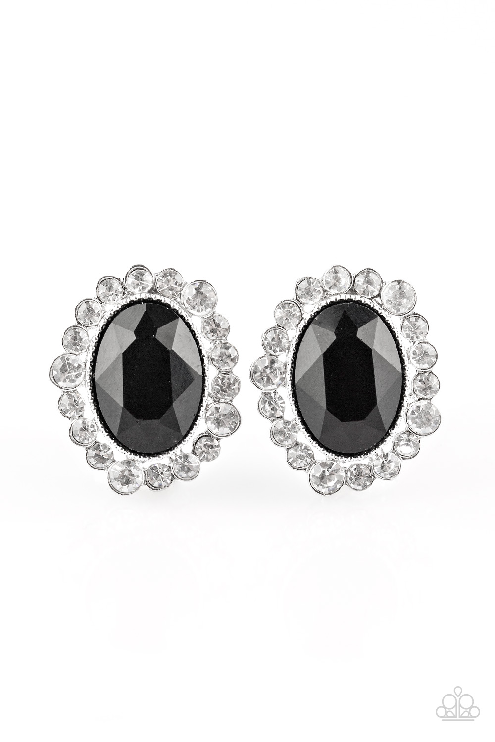 Paparazzi Accessories:  Hold Court - Black Post (119)