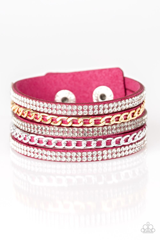 Paparazzi Accessories:  Fashion Fiend - Pink (1320)