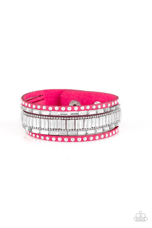 Paparazzi Accessories:  Rock Star Rocker - Pink (2160)