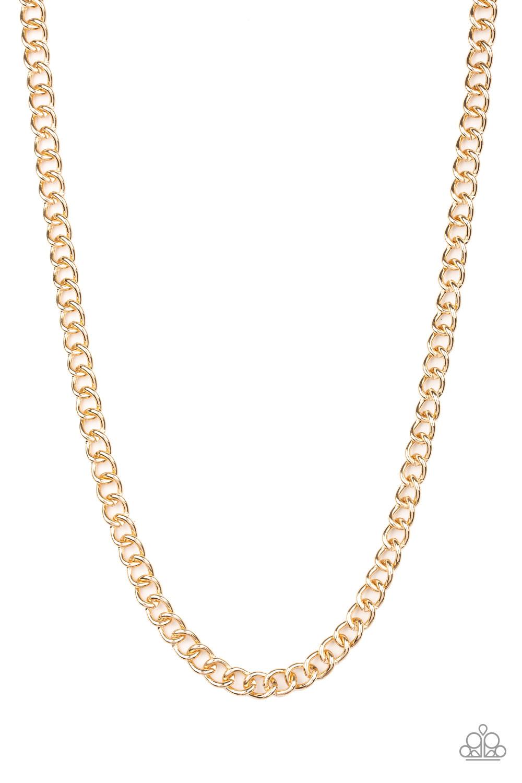 Paparazzi Accessories:  Full Court - Gold (2209)