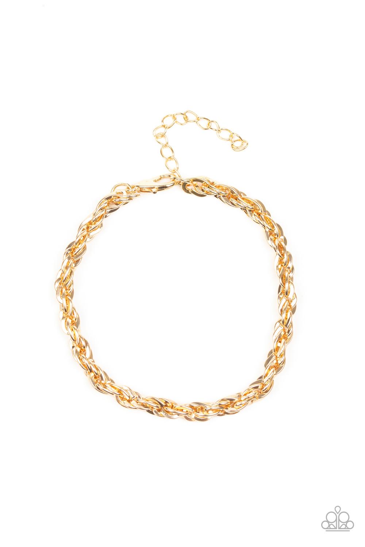 Paparazzi Accessories:  Last Lap - Gold (946)