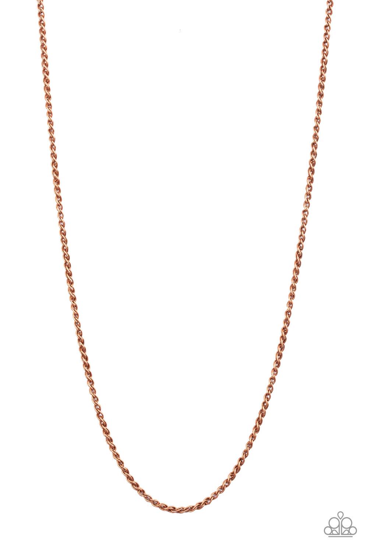 Paparazzi Accessories:  Jump Street - Copper (1404)