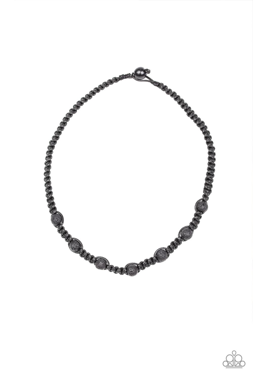Paparazzi Accessories:  Rock Art - Black (345)