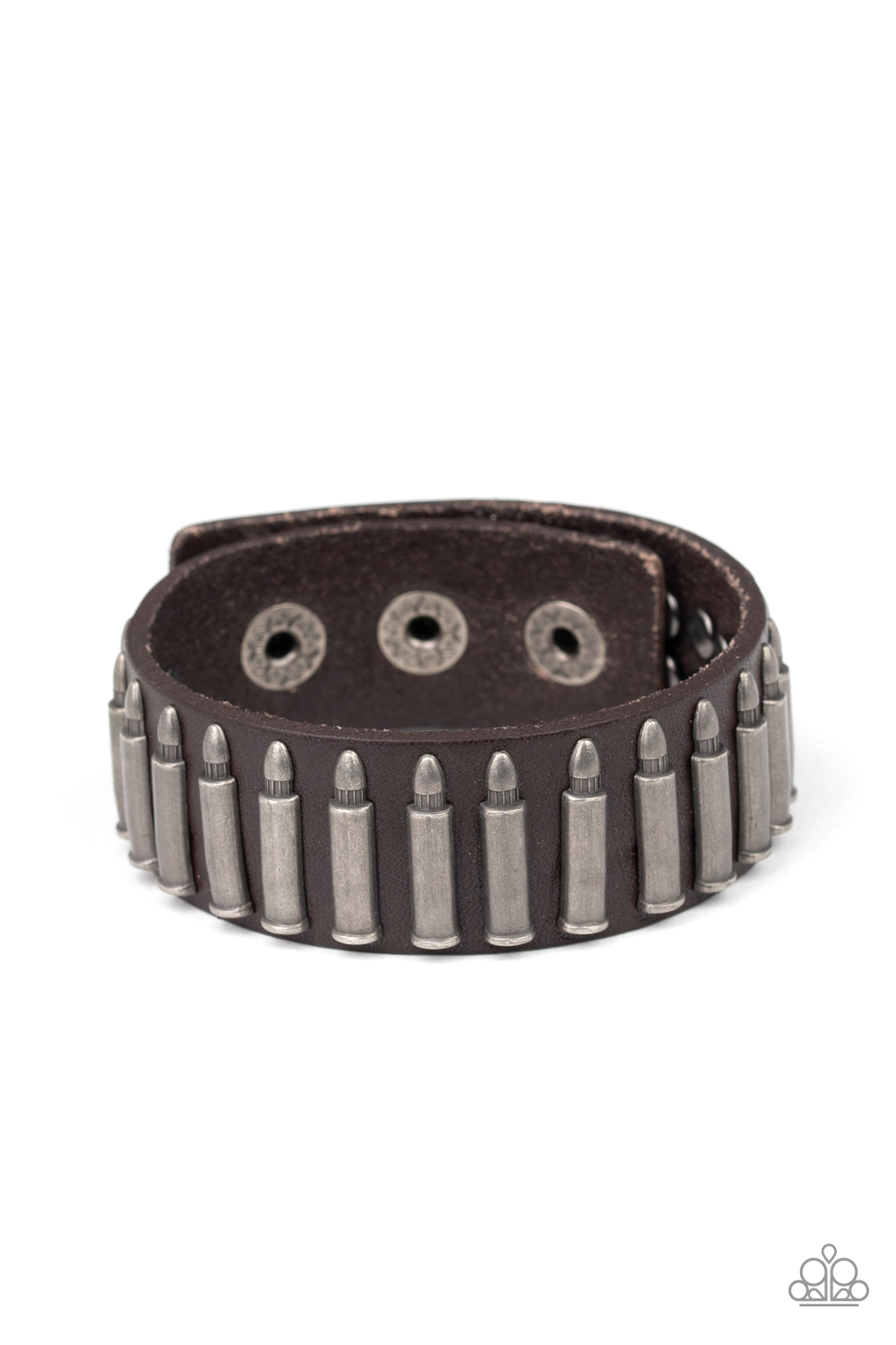 Paparazzi Accessories:  Armed and Dangerous - Brown (1104)