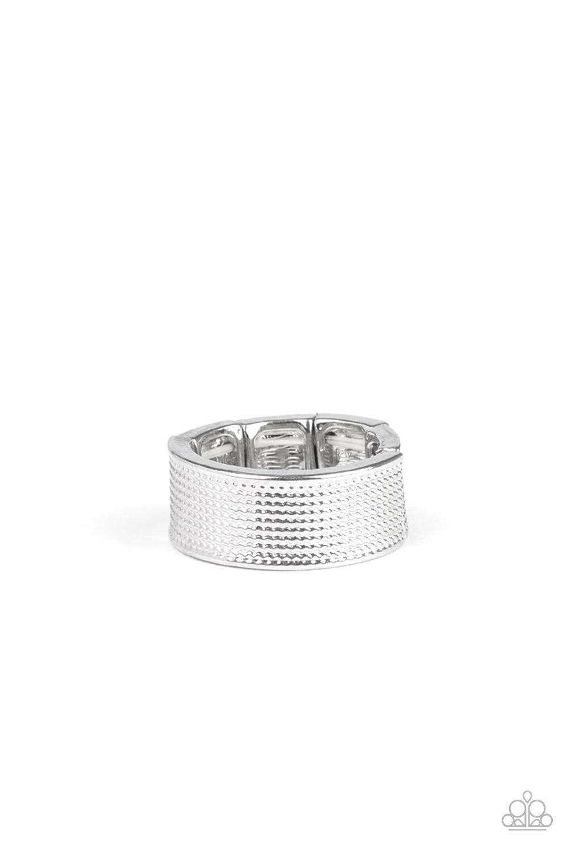 Paparazzi Accessories:  Uppercut - Silver (3518)