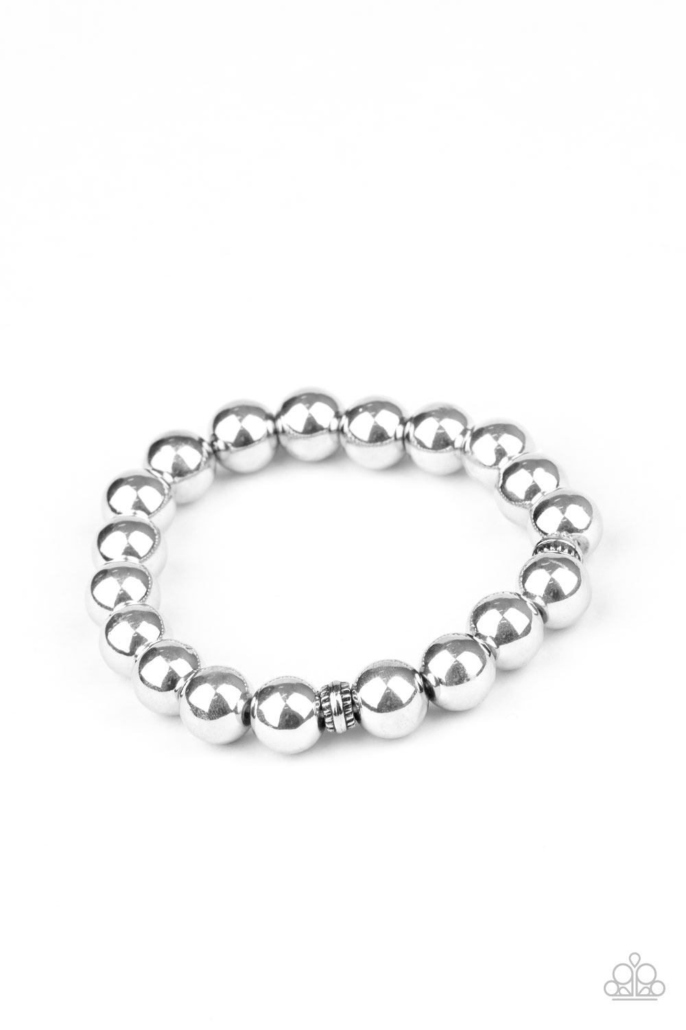 Paparazzi Accessories:  Resilience - Silver (2388)