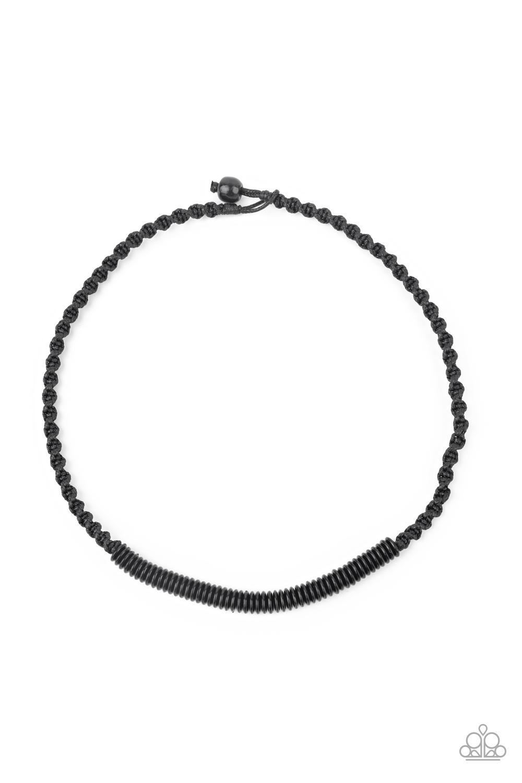 Paparazzi Accessories:  Plainly Primal - Black (124)